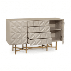 dining room ghost white credenza 002
