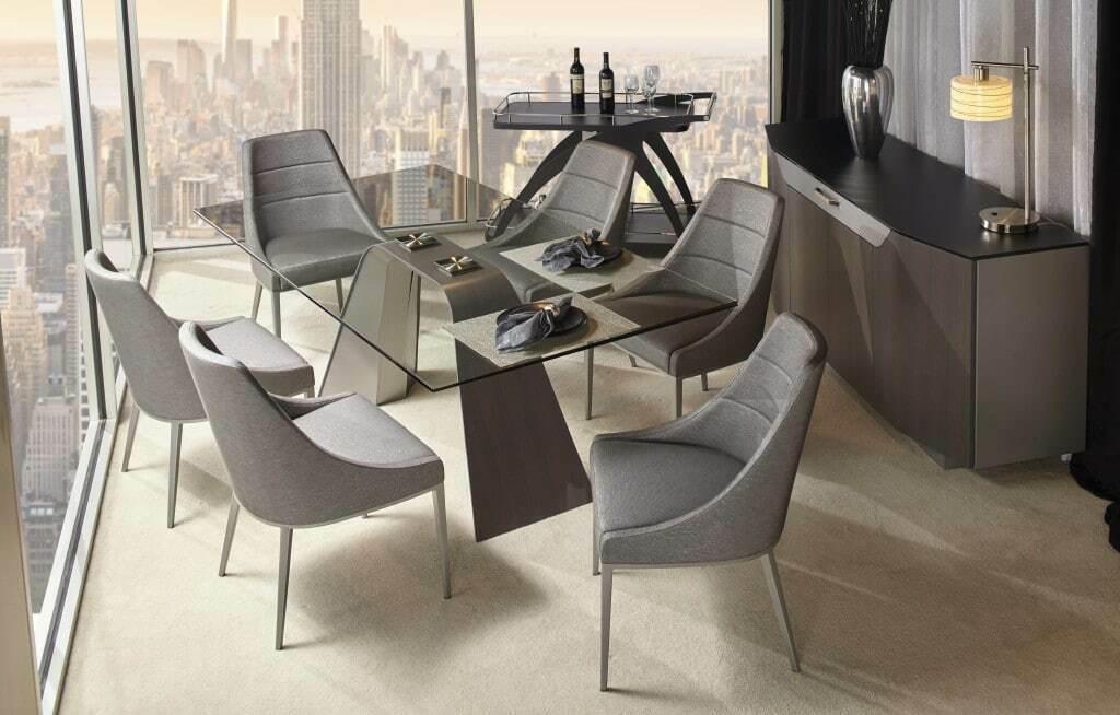 Hyper Rectangular Dining Table Modern Sense Furniture