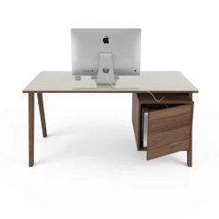 howard glass top desk huppe 0762 3 vo