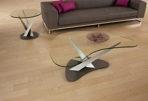 living room crystal boomerang coffee table liveshot