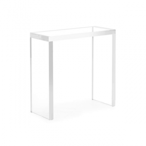 living room crystal side table small