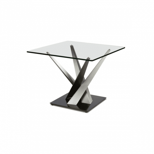 living room crystal square table