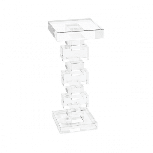 living room cube martini side table