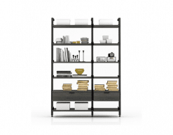 office gravity bookcase