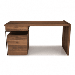 office linea desk with drawer cabinet