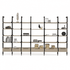 office slim config 10 bookcase