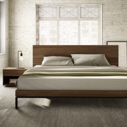 Bora bed with Mimosa collection