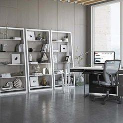 Eileen Blanc Shelves Format Desk modern home office furniture 1 Medium