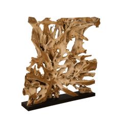 accessories teak sculpture