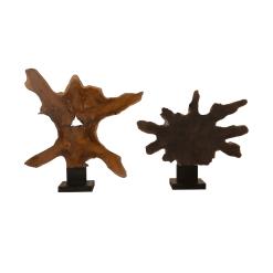 accessories teak sculpture 2