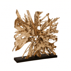 accessories teak sculpture 61-inch