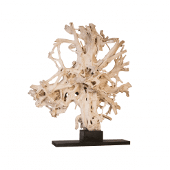 accessories teak sculpture 90-inch