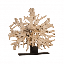 accessories teak sculpture 97-inch