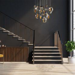 arlington oval chandelier liveshot 2
