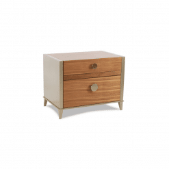 bedroom brittany two-drawer nightstand