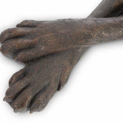 great dane bronze right sculpture details 2