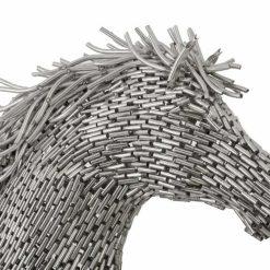 horse pipe sculpture running details Medium