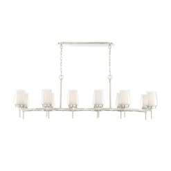 lighting_manchester 59-inch chandelier satin nickel