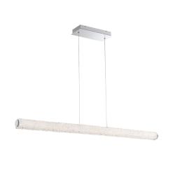 lighting sassi 48 inch linear chandelier
