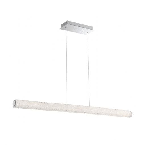 lighting sassi 48-inch linear chandelier