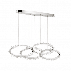 lighting scoppia 51 inch chandelier