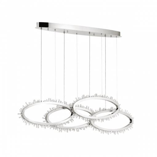 lighting bessie 51-inch chandelier