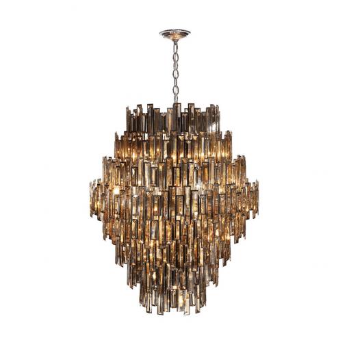 lighting vienna 40-inch chandelier