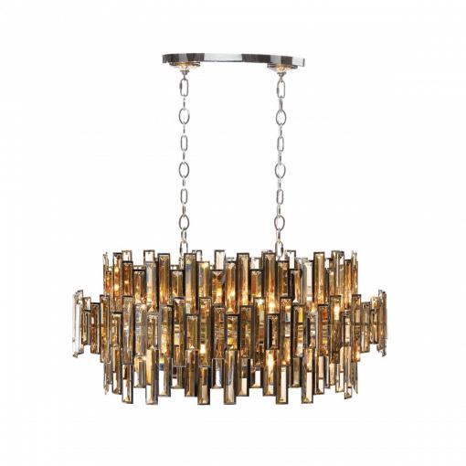lighting vienna linear chandelier