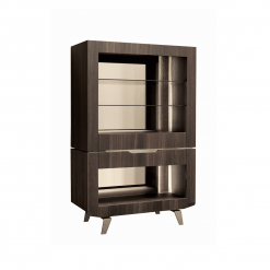 living room accademia curio cabinet