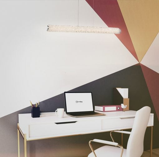sassi linear chandelier liveshot