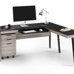 sigma desk 6901 return 6902 6907 file storage BDI str modern office furniture 1 Medium