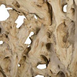 teak sculpture 76 inch details