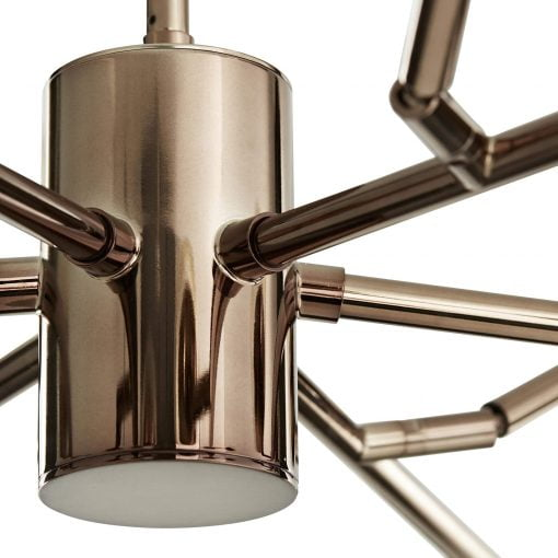 Dallas chandelier details