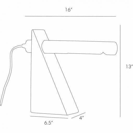 Hargis desk table lamp dimensions