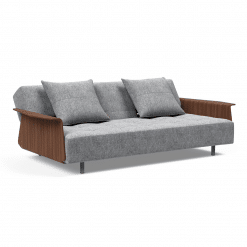 Long Horn Sofa Bed with Arms