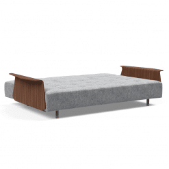 Long Horn Sofa Bed with Arms open
