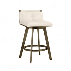 loreto counter stool in white