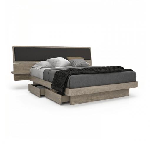 bedroom alma queen storage bed