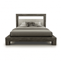 bedroom cloe padded headboard bed