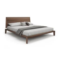 bedroom dusk bed wood finish