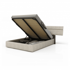bedroom plank upholstered storage bed 001