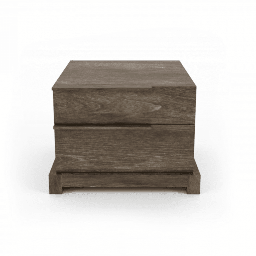 bedroom silk 2-drawer night stand right