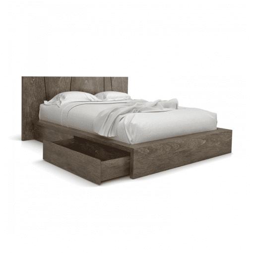 bedroom silk storage bed