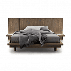 bedroom surface wood bed