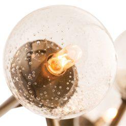 dallas chandelier vintage brass details 001