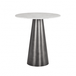 leonie bar table gunmetal