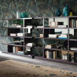 heritage bookcase liveshot