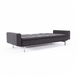 living room dublexo stainless steel sofabed with arms 002