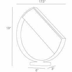 luna table lamp dimensions