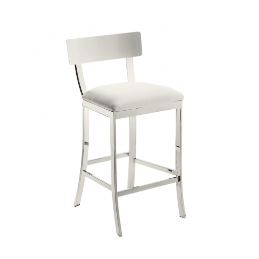 maiden stool in white